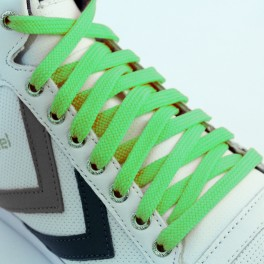Hi-Top Flat Lime Green 150cm x 10mm