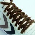 Classic Flat Black 60cm x 10mm Shoe Laces